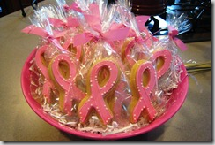 2011 04 - Pink Ribbon Cookies by Kari