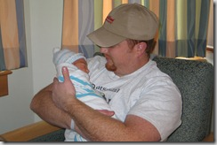 2007 02 Adam Day 2 with Daddy 2