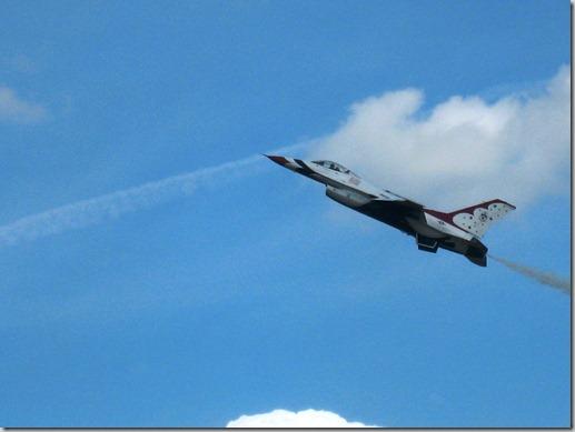 2011 05 - Air Show Thunderbird up close1