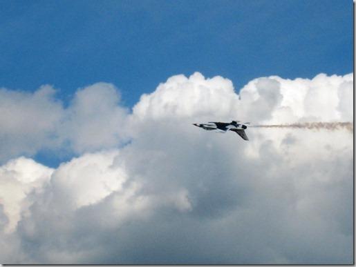 2011 05 - Air Show - upside down thunderbird1