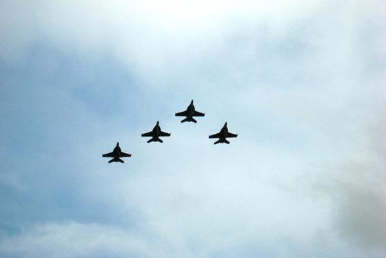 2011 08 - Funeral flyover