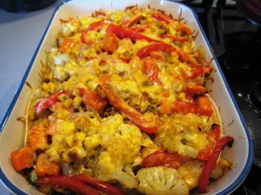 Roasted Vegetable Enchilada1