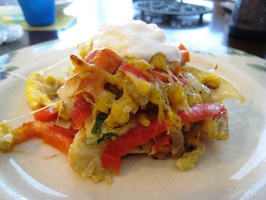 Roasted Vegetable Enchilada2