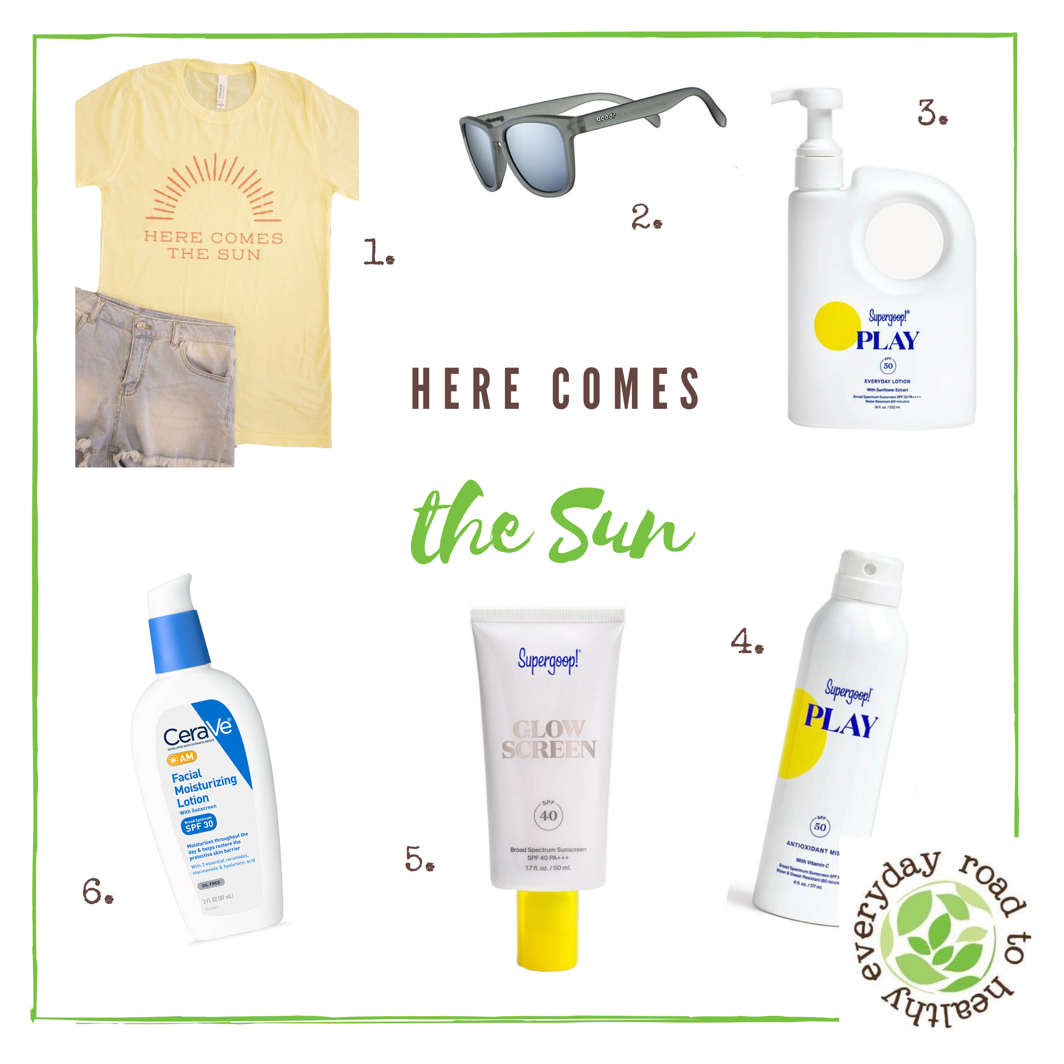 Sun protection products guide