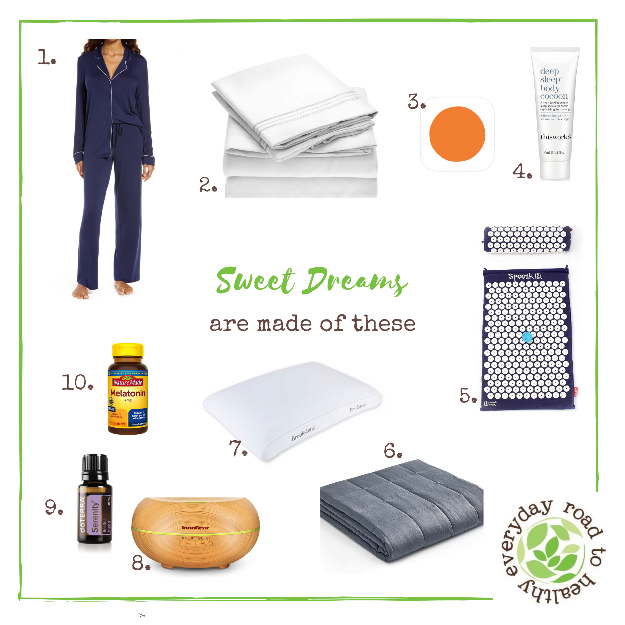sleep product recommendations