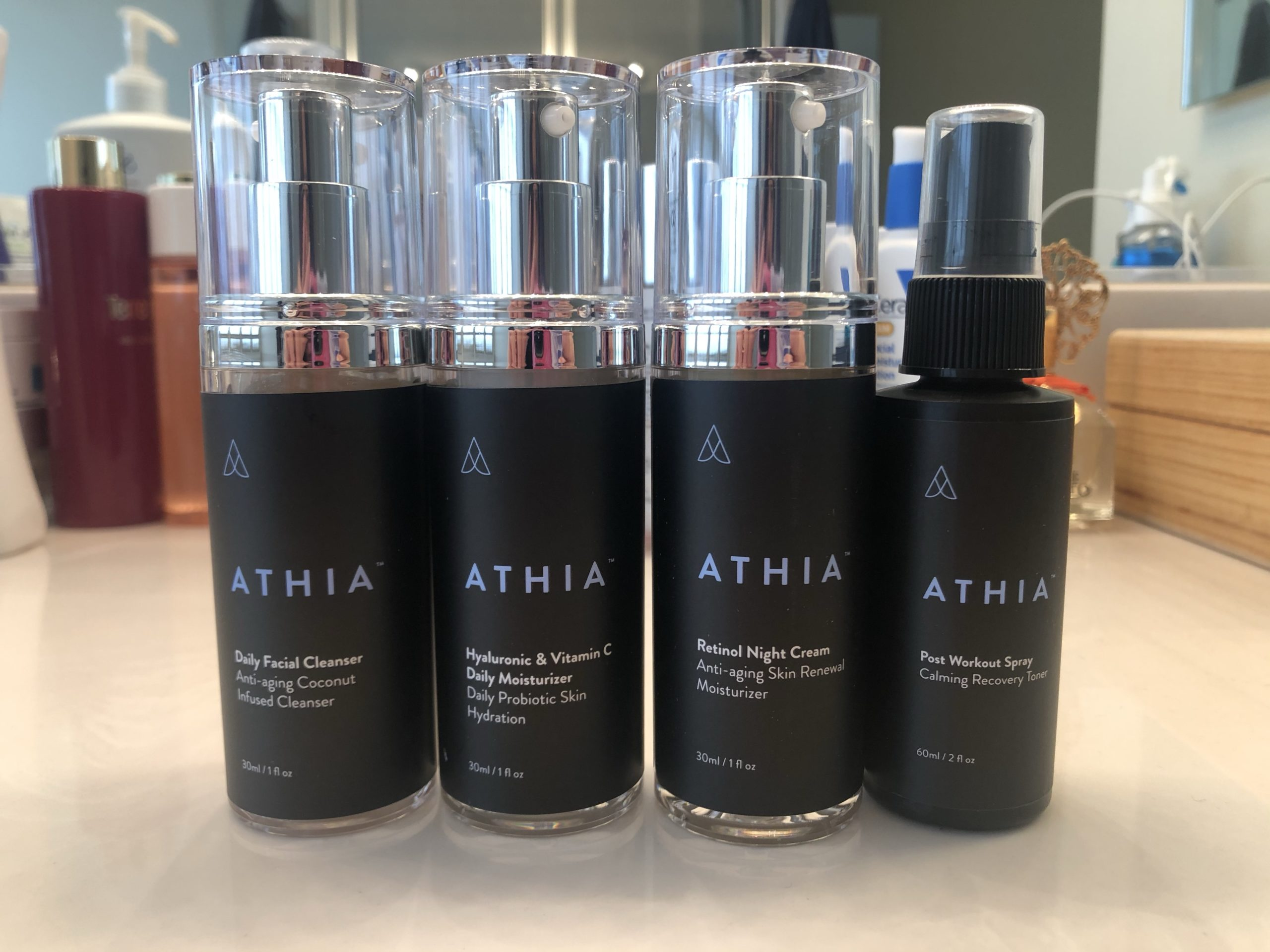 4 athia products