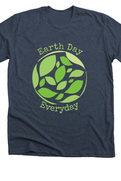 Navy Blue Every Earth Day Everyday Shirt